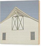 White Barn South Woodstock Vermont Wood Print