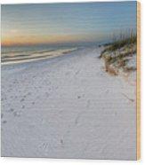 White Beaches Of Cape San Blas Wood Print