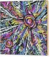 White Ferns - Detail Wood Print
