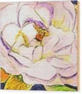White Gardenia Wood Print