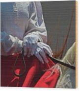 White Gloves Wood Print
