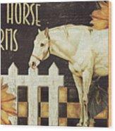 White Horse Farms Vermont Wood Print