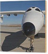 White Knight 2 Edwards Air Force Base Wood Print