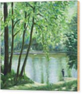 White Lick Creek  Wood Print