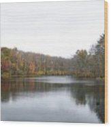 White Mill Park - Fall 1 Wood Print