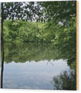 White Mill Park - Summer 2 Wood Print