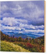 White Mountains Wood Print