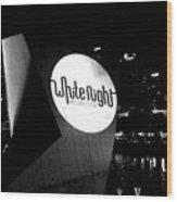 White Night Melbourne Wood Print
