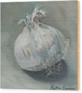 White Onion No. 1 Wood Print