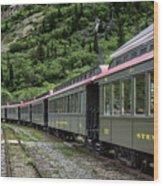 White Pass And Yukon Railway Wood Print