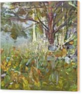 White Pine Wood Print