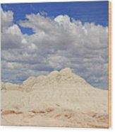 White Pocket # 2 Wood Print