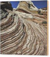 White Pockets 2376 Wood Print