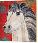 White Princes Wood Print