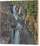 White River Falls State Park Wood Print