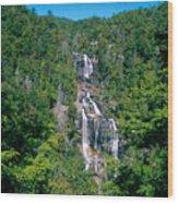 White River Falls Wood Print