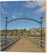 White Rock Pier In Bc Canada Wood Print