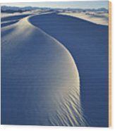 White Sands National Monument Wood Print