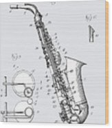 White Sax Wood Print