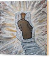 White Throne Of Heaven Wood Print