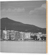 White Tower Of Thessaloniki Wood Print