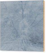 White Tree Wood Print