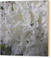 White Wit Wood Print