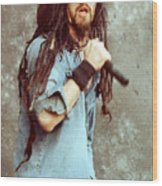 White Zombie 93-rob-0350 Wood Print