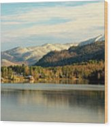 Whiteface Dusting Wood Print