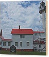 Whitefish Point Lighthouse I Wood Print