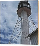 Whitefish Point Lighthouse II Wood Print