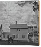 Whitefish Point Lighthouse Wood Print