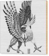Whitehead Griffin Wood Print