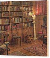 Whitehern Library Wood Print