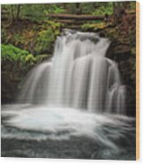 Whitehorse Falls 2 Wood Print