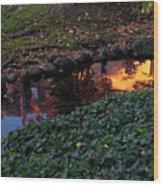 Whiteman College Reflection Wood Print