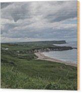 Whitepark Bay Wood Print