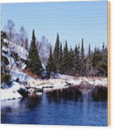 Whiteshell Provincial Park Wood Print