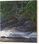 Whiteshell Provincial Park Lakeshore Wood Print
