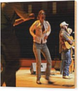 Whitetop Mountain Band In Concert Wood Print