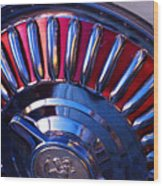 Whitewall Roulette Wood Print