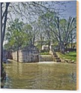 Whitewater Canal Metamora Indiana Wood Print
