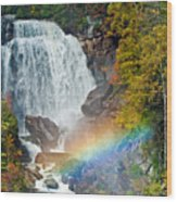 Whitewater Falls Wood Print