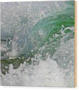 Whitewater Wood Print