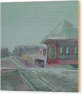 Whitewater Rail Station Wood Print