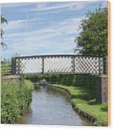 Whitley Bridge Wood Print