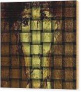 Who Am I   Series 3  Wood Print by Teodoro De La Santa