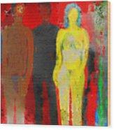 Who  Wood Print by Carlos Camus