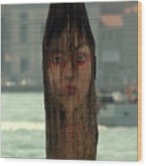 Why The Long Face Wood Print