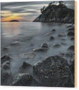 Whyte Islet Wood Print